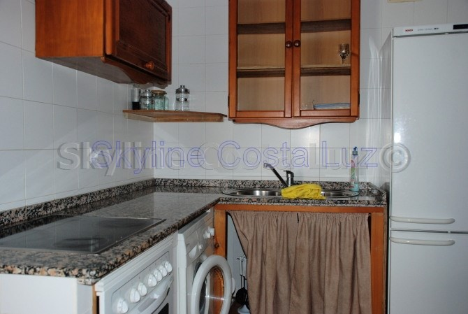 kitchen, apartment for sale in conil, costa luz, id 1462