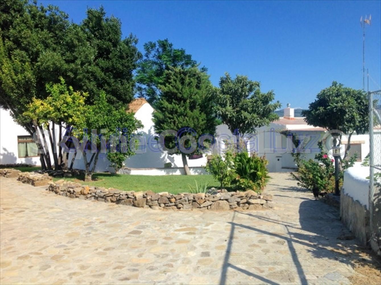 garden, finca for sale in vejer, costa luz, id 1449