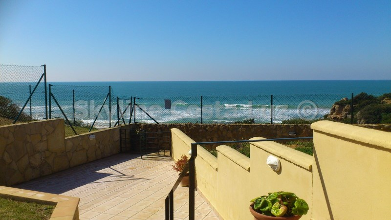 beach, access, villa in roche, conil, costa luz