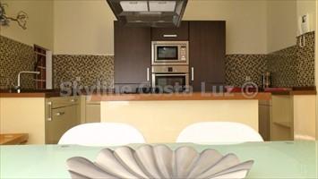 cocina, küche, kitchen, villa in roche, conil, costa luz