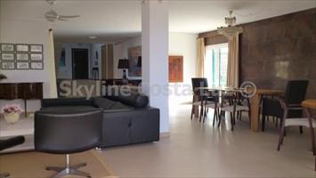 living room, villa in roche, conil, costa luz