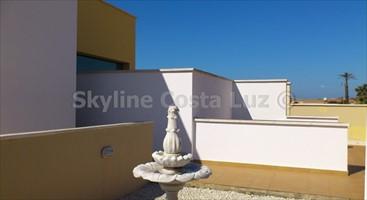 entrance, entrada, villa in roche, conil, costa luz