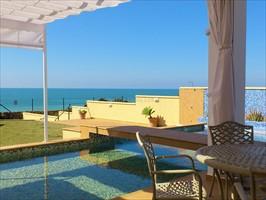 terraza, terrace, terrasse, villa in roche, conil, costa luz