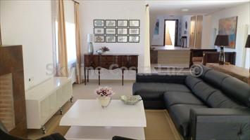 wohnen, salon, lounge, villa in roche, conil, costa luz