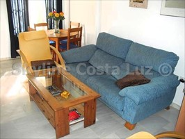 salon, wohnen, lounge, apartment in novo sancti petri, chiclana, costa de la luz