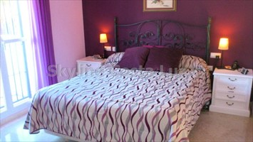 dormitorio, bedroom, schlafzimmer, villa in cerromolinos, chiclana, costa de la luz