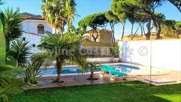 pool, piscina, villa in cerromolinos, chiclana, costa de la luz