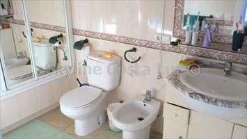 baño, bad, bathroom, villa in cerromolinos, chiclana, costa de la luz