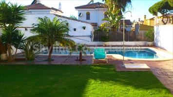 piscina, pool, villa in cerromolinos, chiclana, costa de la luz